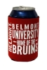 CAN COOLER- RED BRUIN