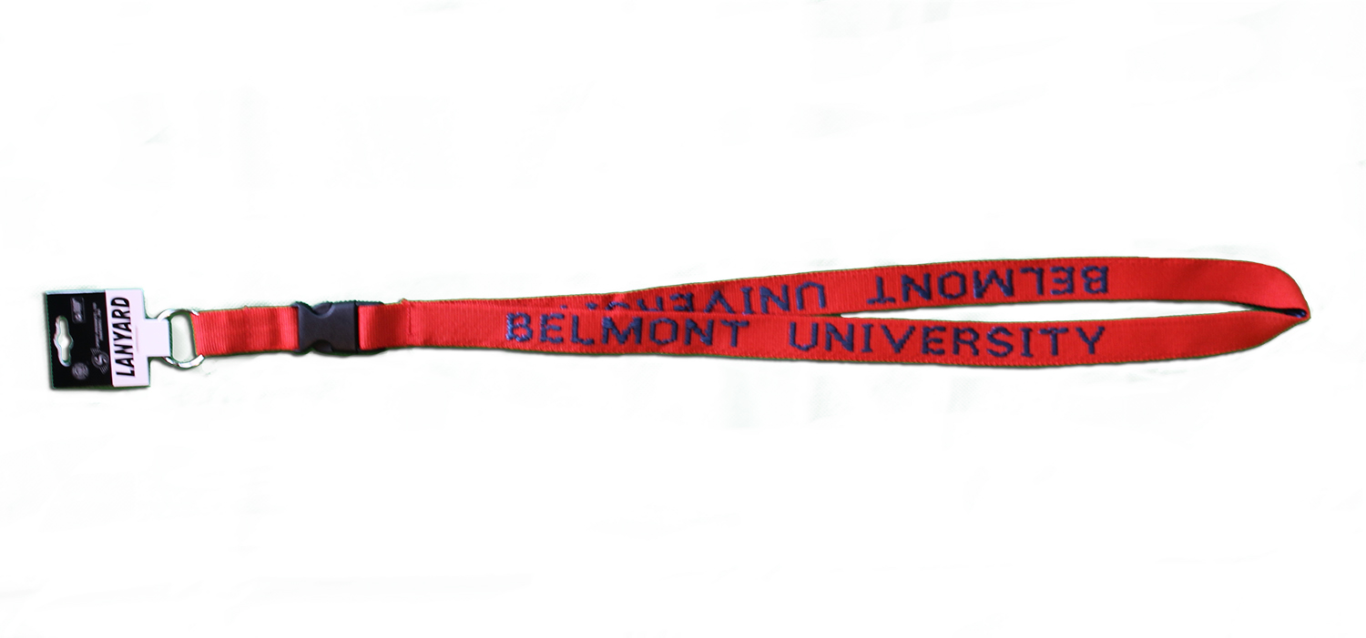 Image For LANYARD- RED & NAVY