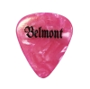 Image for GUITAR PICK- BELMONT PINK
