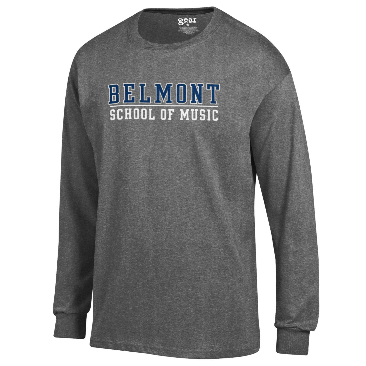 Image For SCHOOL OF MUSIC L/S TEE