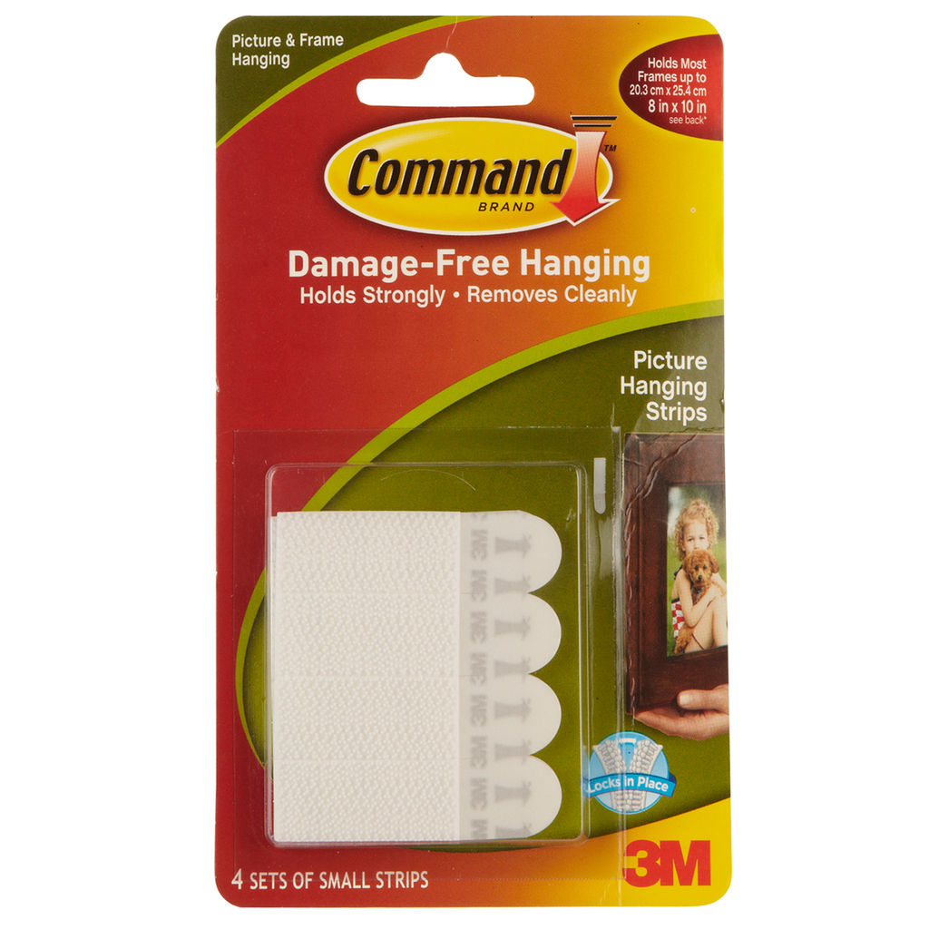 Cover Image For COMMAND PICTURE HANGING STRIPS