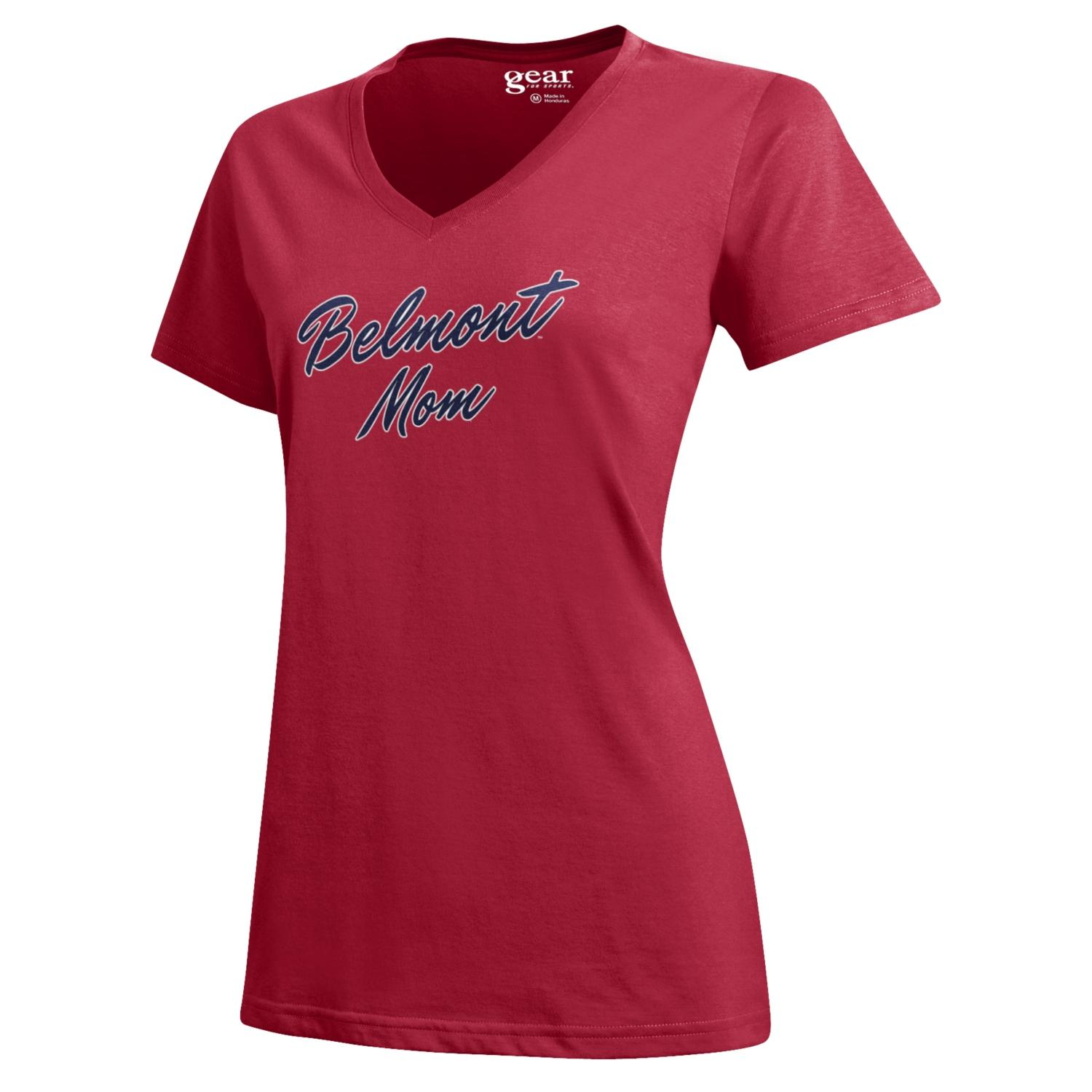 Image For BELMONT MOM MIA V-NECK TEE