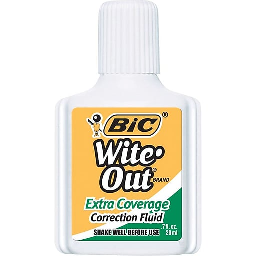 Cover Image For BIC WITE-OUT