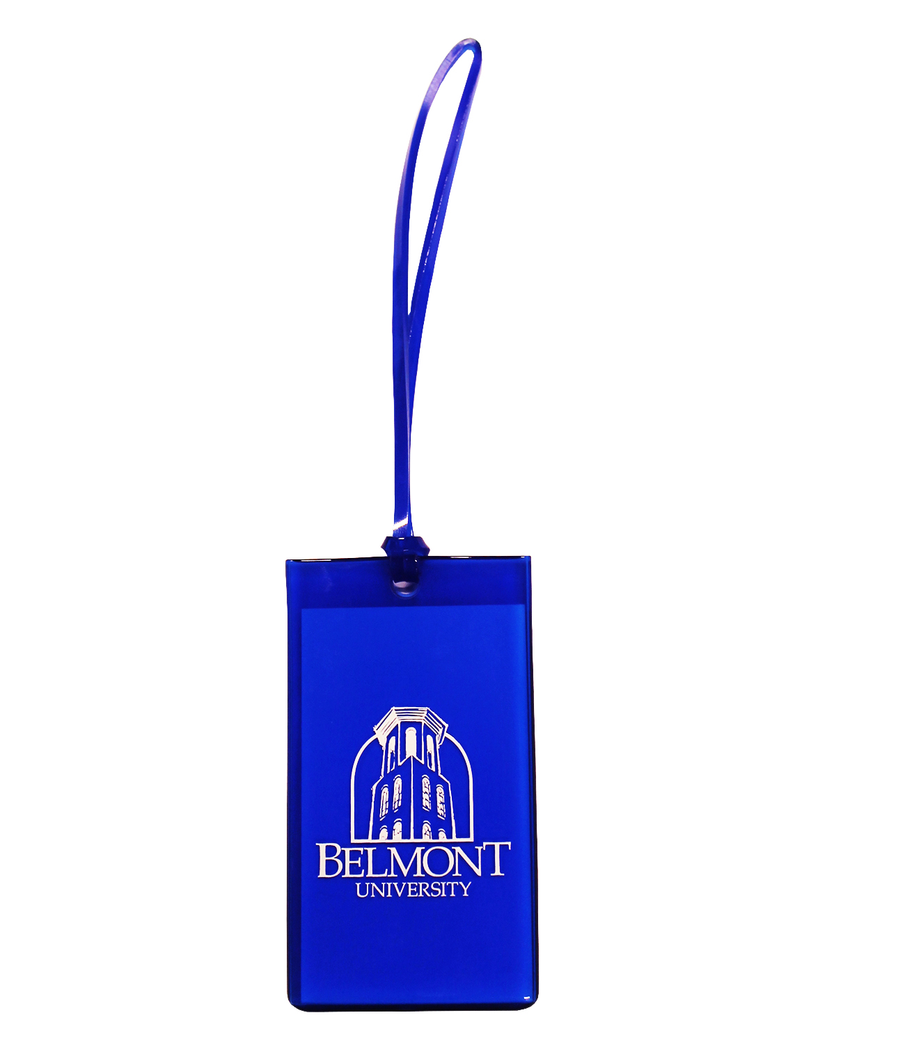 Image For LUGGAGE TAG- NAVY TOWER