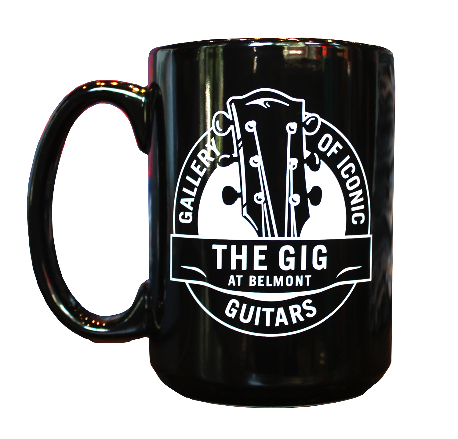Image For GALLERY OF ICONIC GUITARS MUG