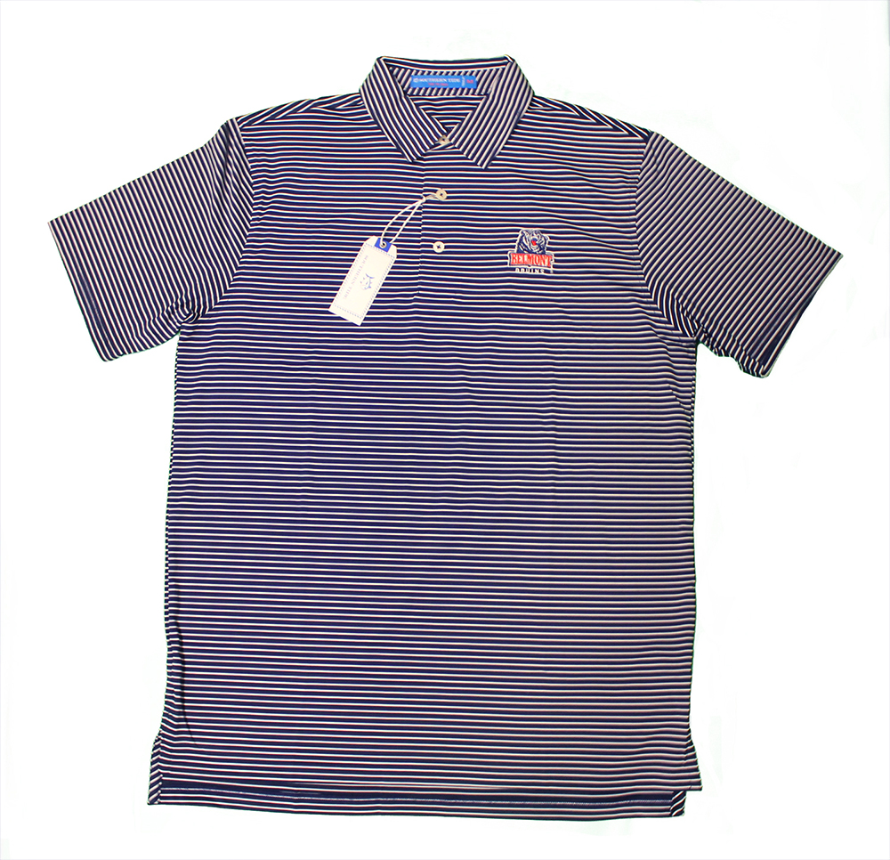 Image For SOUTHERN TIDE GAME DAY STRIPE POLO