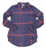 Image for NAVY & RED PLAID SATIN