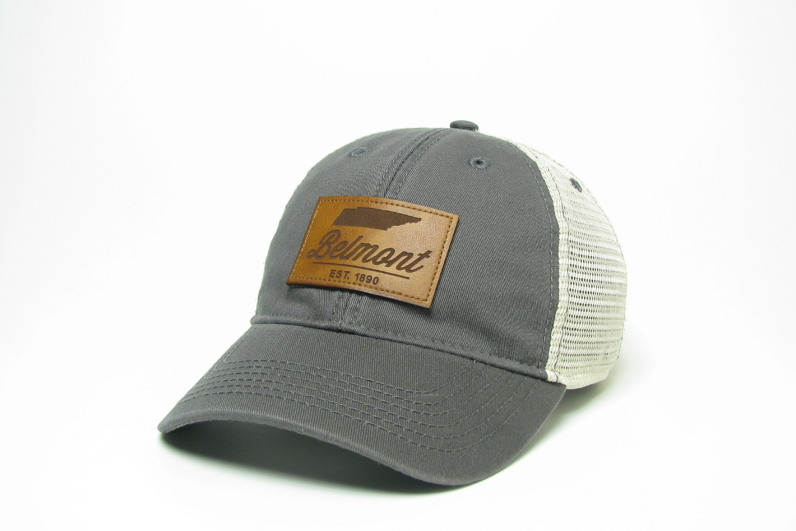 Image For LEATHER PATCH TRUCKER