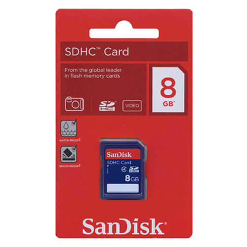 Image For SANDISK SDHC CARD-8GB