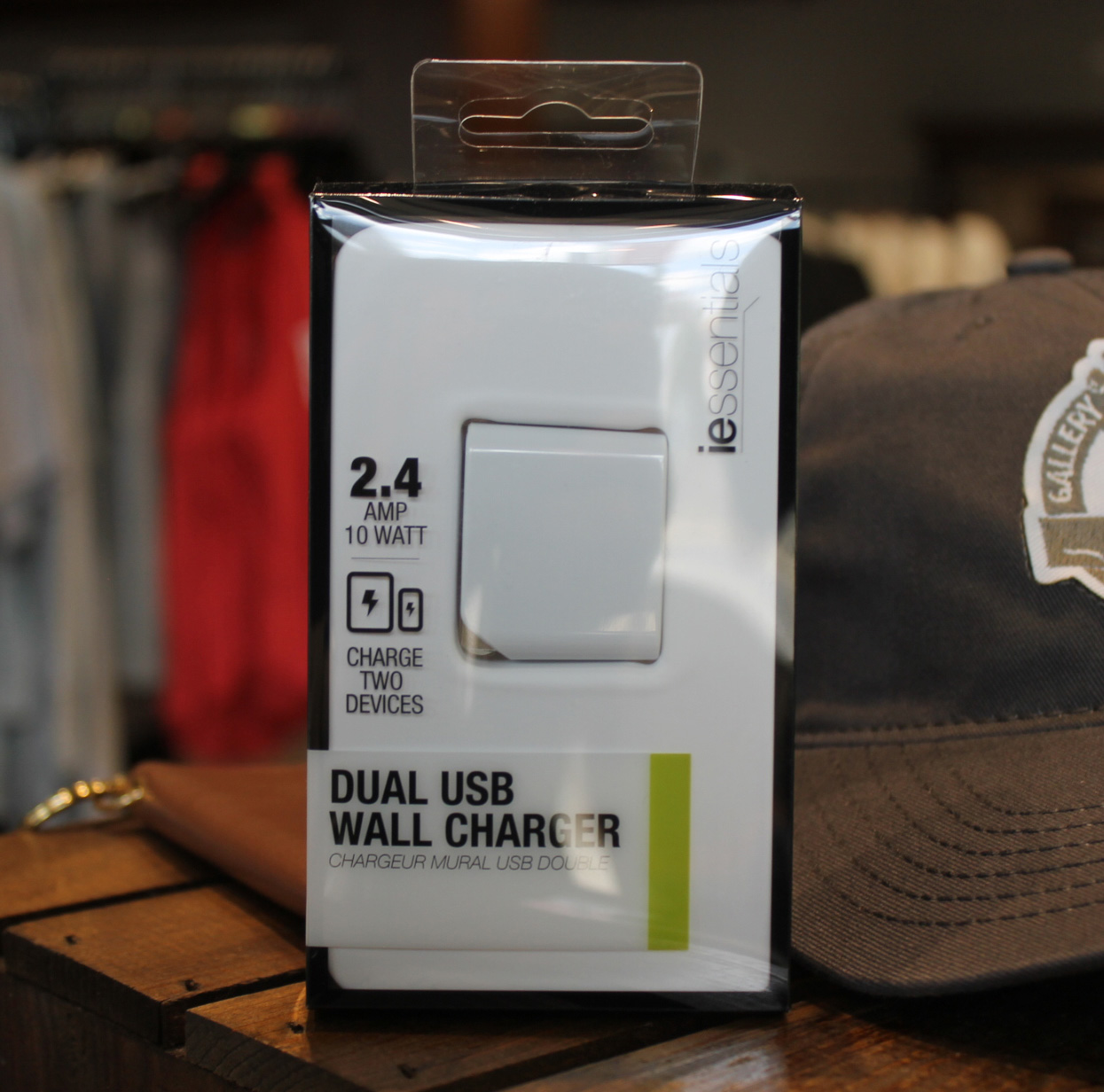 Image For iESSENTIALS USB WALL CHARGER