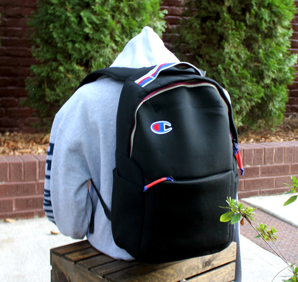 Cover Image For CHAMPION BACKPACK-BLACK