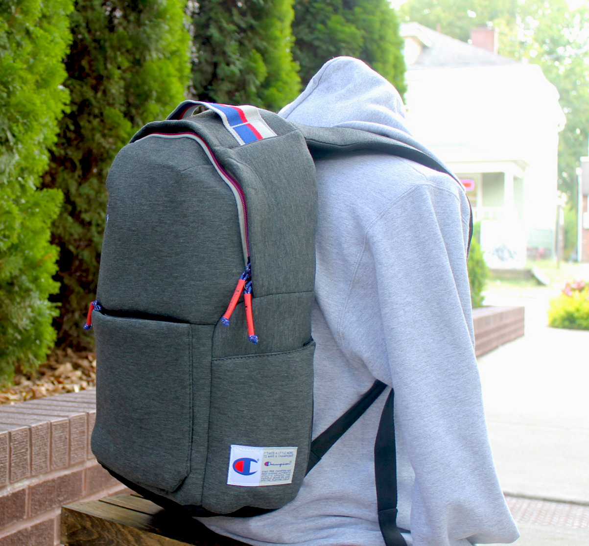 Cover Image For CHAMPION BACKPACK-GRAY