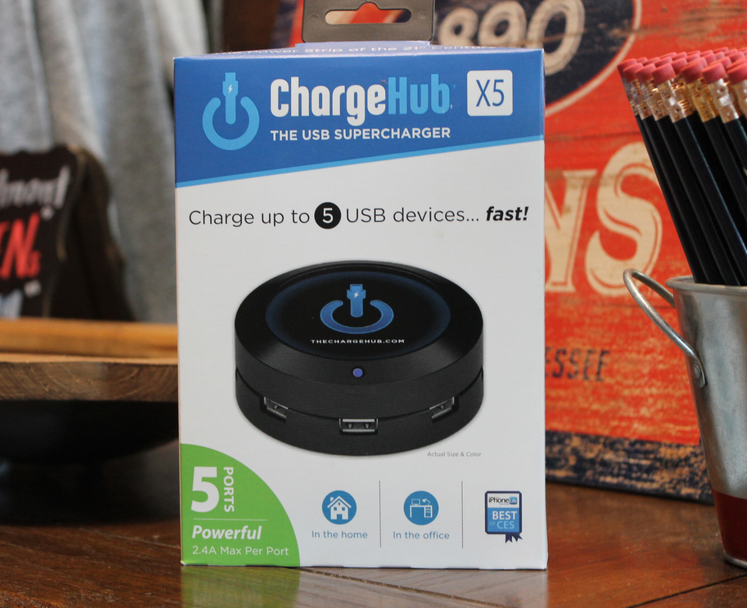 Image For CHARGEHUB X5