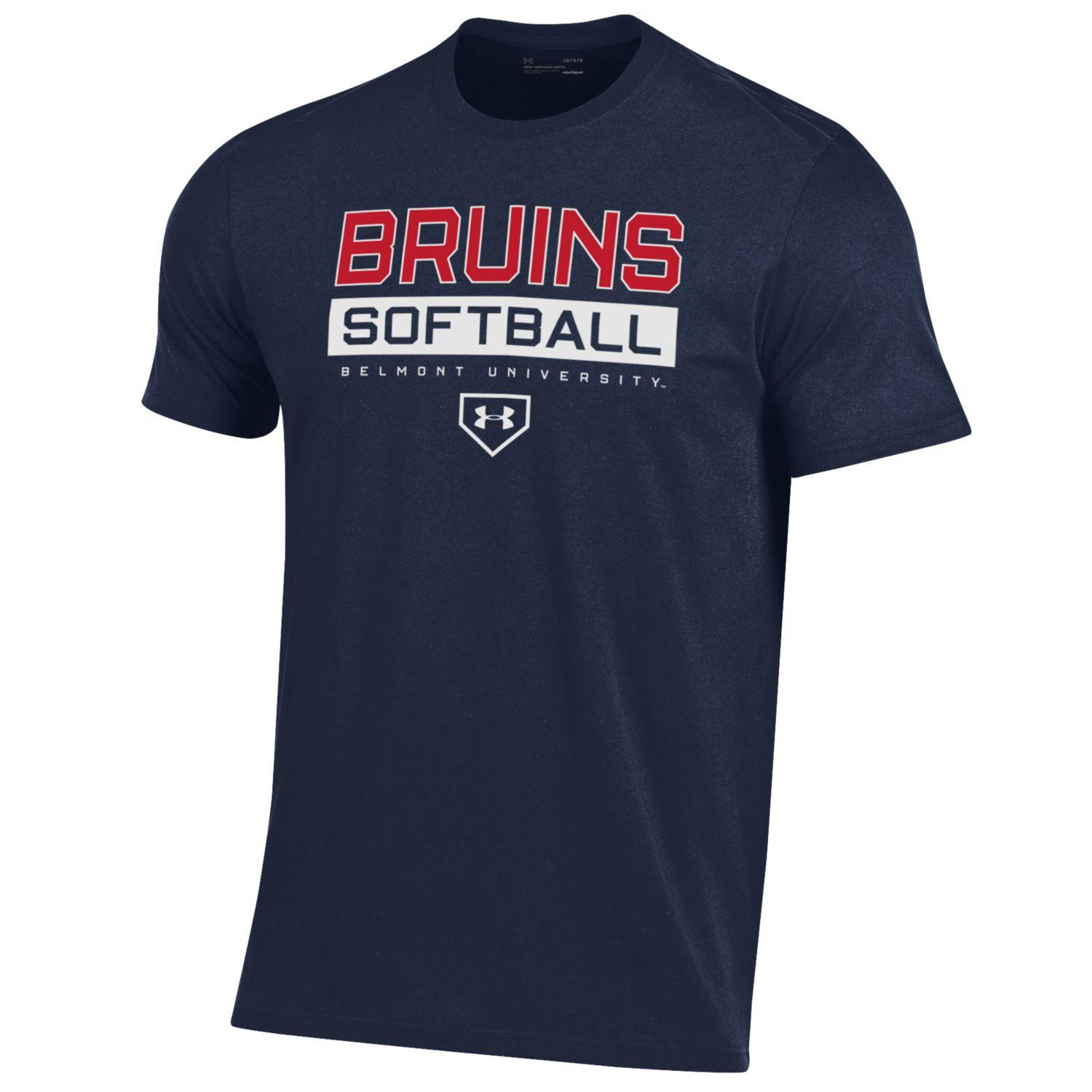 Image For UNDER ARMOUR SOFTBALL TEE