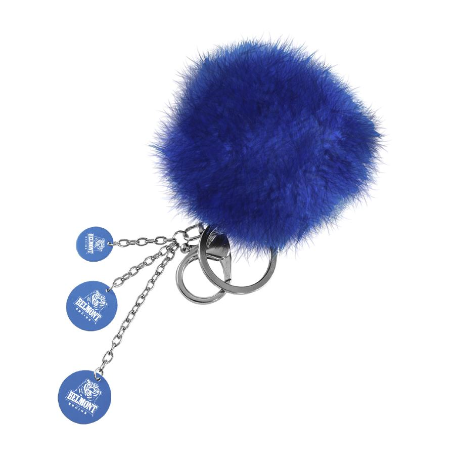 Image For LXG PUFFBALL KEYCHAIN
