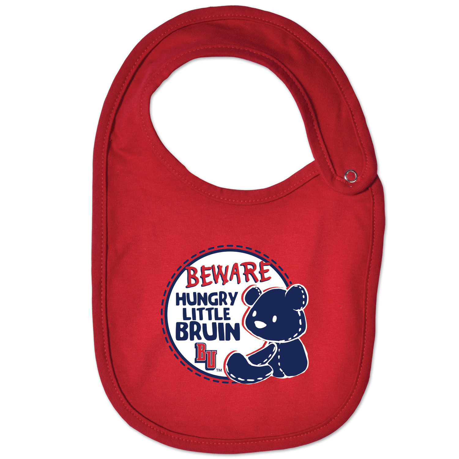 Cover Image For COLLEGE KIDS BABY BRUIN BIB