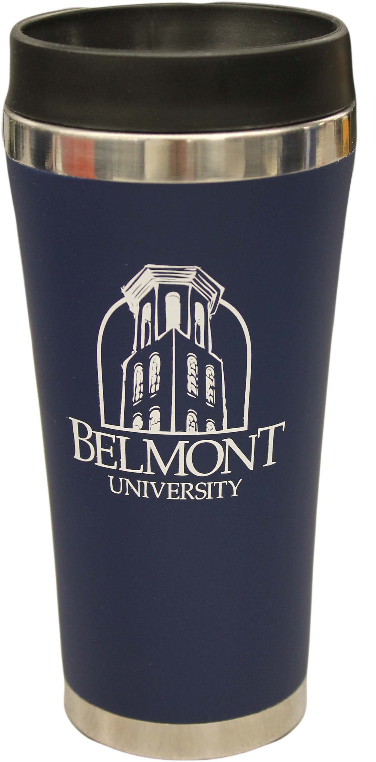 Image For BELMONT TOWER LOGO TRAVEL TUMBLER