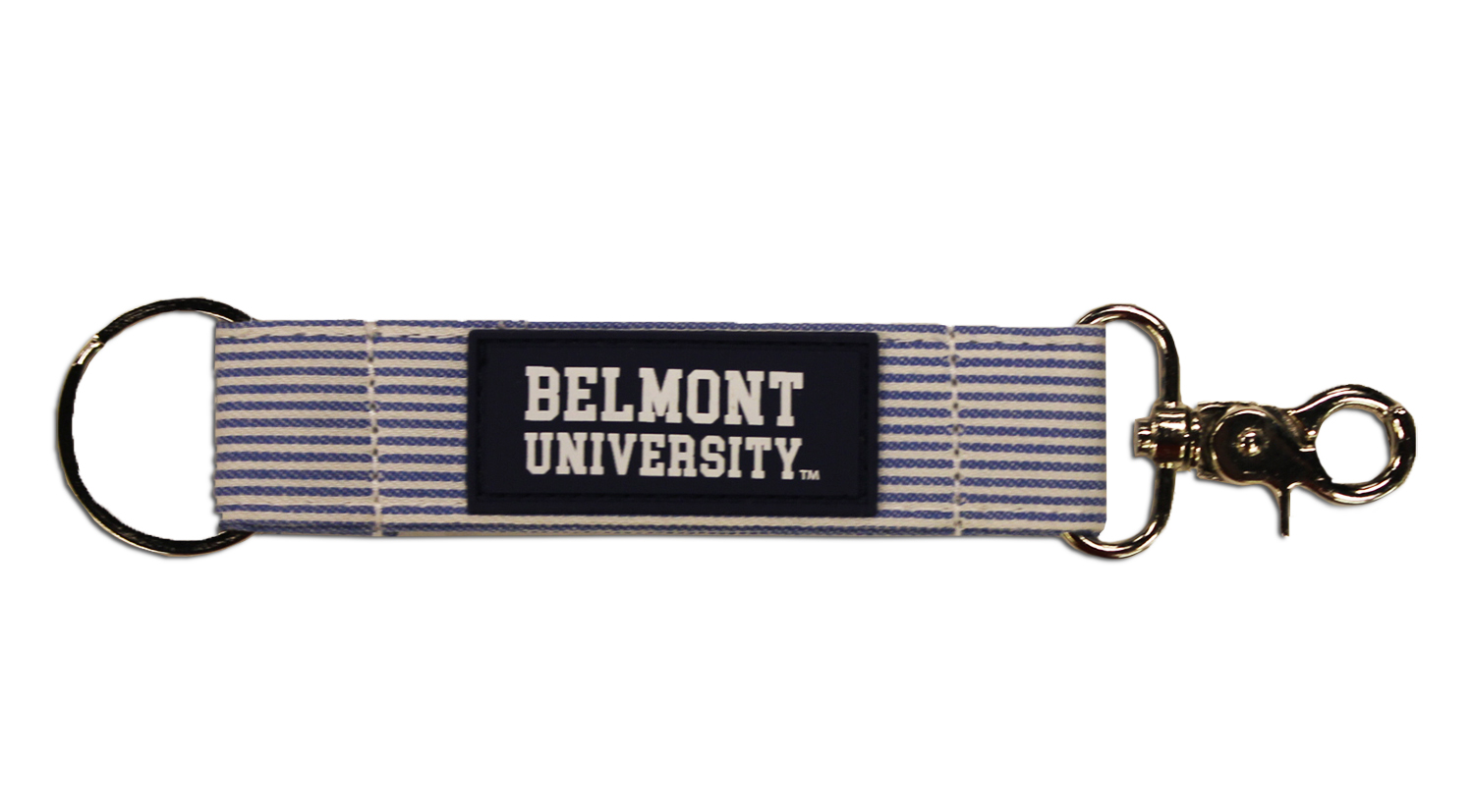 Image For BELMONT STRIPED KEY STRAP