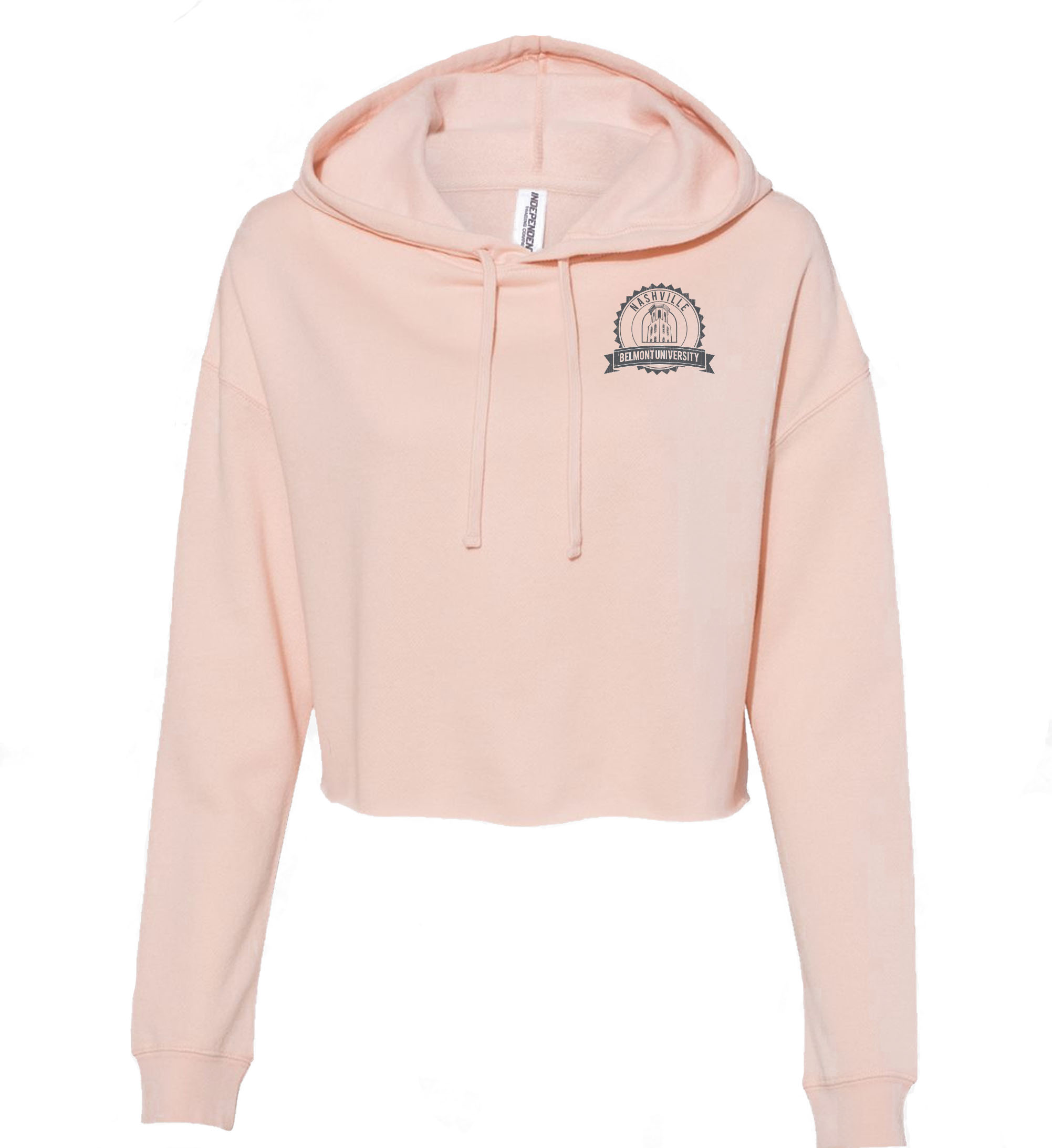 Image For BELMONT CROP HOODIE (8555)