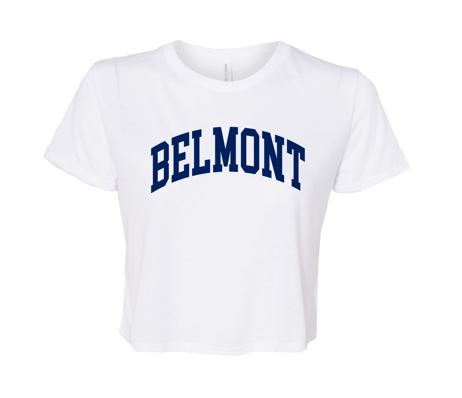 Image For BELMONT FLOWY CROP TEE (5856)