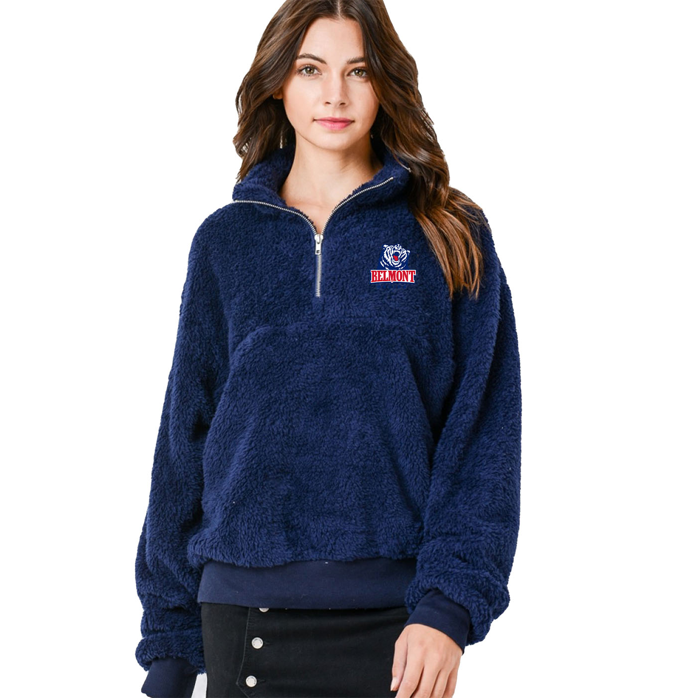 Image For BRUIN SHERPA 1/4 ZIP (8576)
